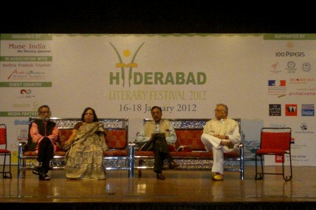 Hyderabad Literary Festival 2012