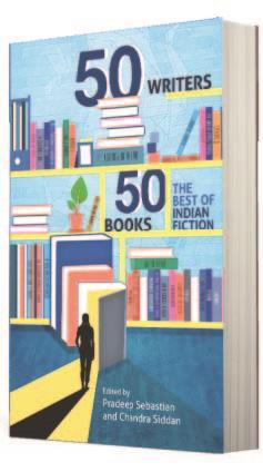 50 Writers, 50 Books: The Best of Indian Fiction by Pradeep Sabestian, Chandra Siddan