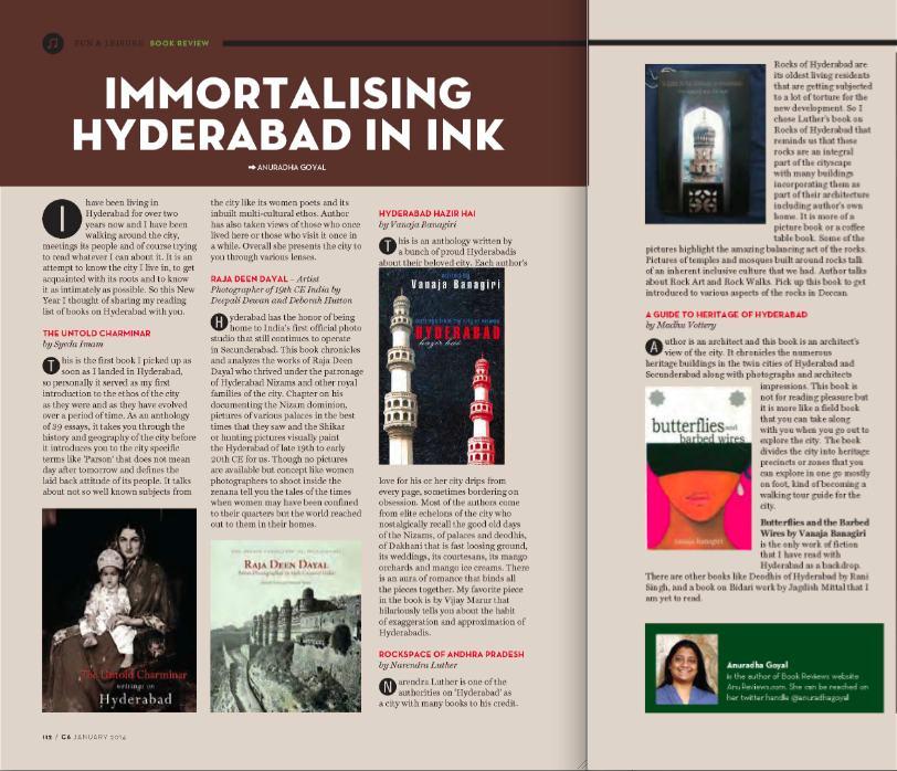 Books on Hyderabad
