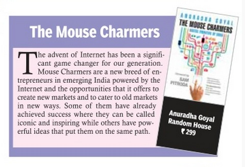 On Hans India Newspaper's Book Shelf