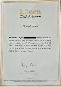 Anureviews National record