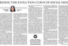 Riding the evolution curve of social media