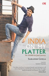 Book Review - India on My Platter by Saransh Goila