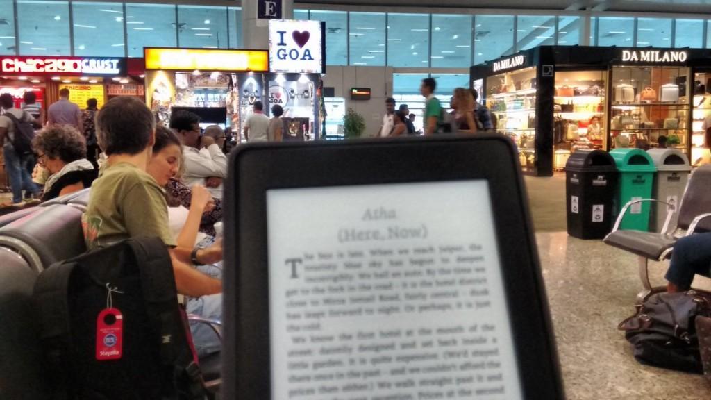 Kindle Paperwhite Goa Airport